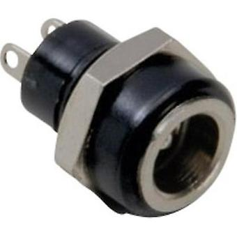 Low power connector Socket, vertical vertical 5.7 mm 2.5 mm