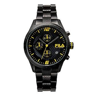 Fila men's watch chronograph stainless steel FA38-001-004