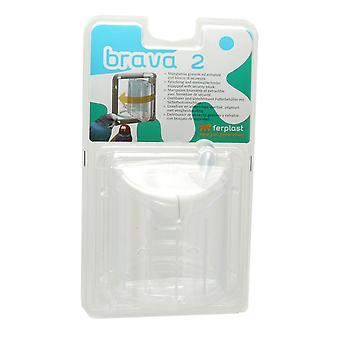 Brava 2 Revolving & Removable Feeder 11x8.5x13cm