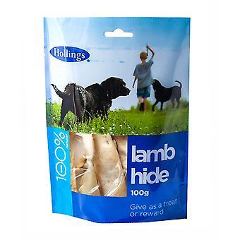 Hollings lam skjule 100g (Pack af 8)