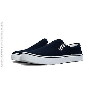 Yachtmaster Men's Canvas Deck Boat Loafers Shoes Plimsoles Slip On