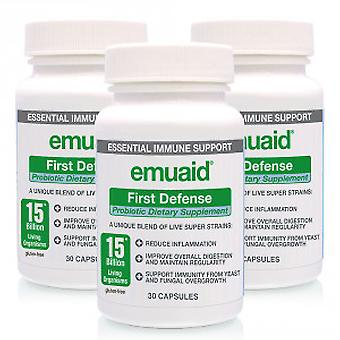 Emuaid First Defense Probiotic - Immunity Booster - 3 Packs