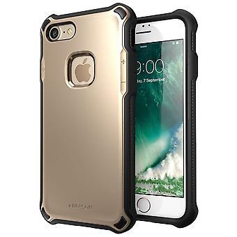 Jag-Blason-iPhone 7 fall-Venom fall-hårt Outter skal-guld
