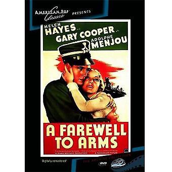 Adiós a las armas [DVD] USA importar