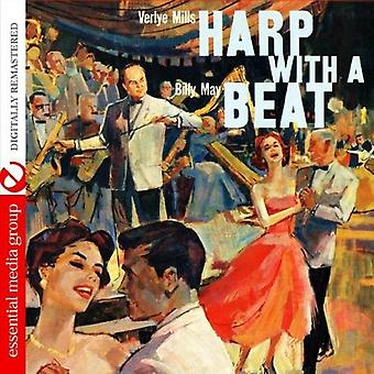 Verlye Mills - Harp with a Beat [CD] USA import