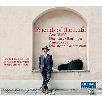 Weiss/Baron/Bach - Friends of the Lute [CD] USA import
