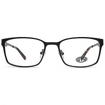 Animal Simmonds Flat Sheet Rectangle Glasses In Black
