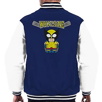 Wolverine Cartoon Figur Männer Varsity Jacket