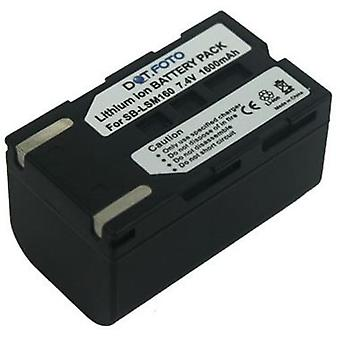 Dot.Foto Samsung SB-LSM160 Replacement Battery - 7.4v / 1600mAh
