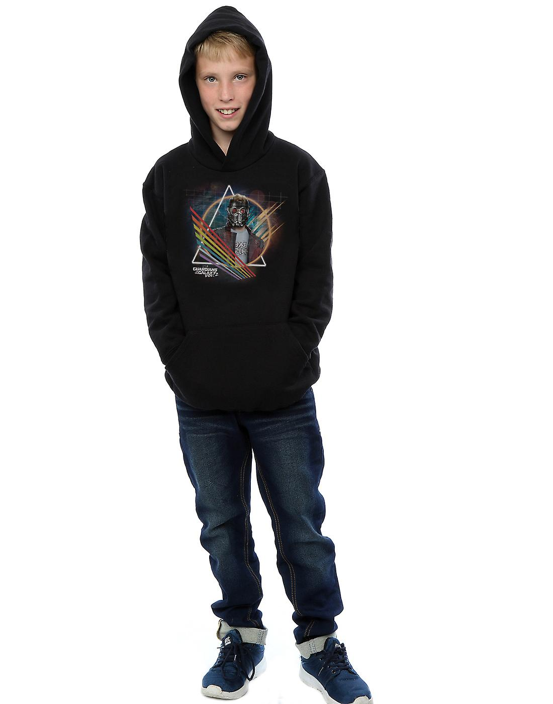 Marvel Boys Guardians of The Galaxy Neon Star Lord Masked Hoodie