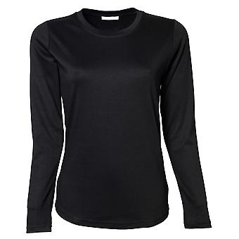 Tee Jays Womens/Ladies Interlock Long Sleeve T-Shirt