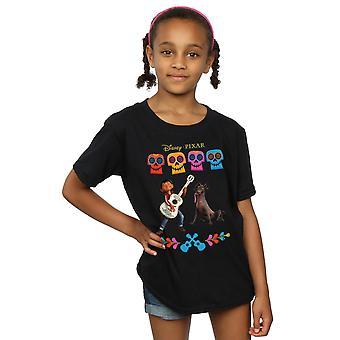 Дисней девушки Коко Мигель логотип T-Shirt