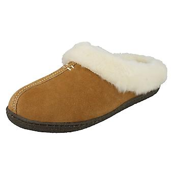 Ladies Clarks Mule Slippers Home Classic
