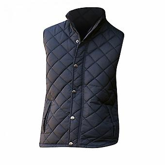 Front Row Womens/Ladies Diamond Quilt Gilet / Bodywarmer