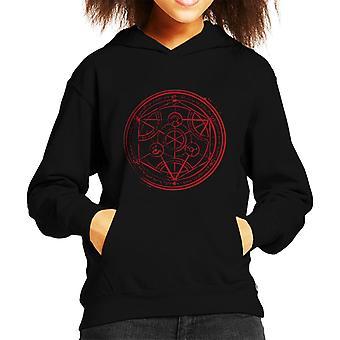 Fullmetal Alchamist Transmutation Circle Kid's Hooded Sweatshirt