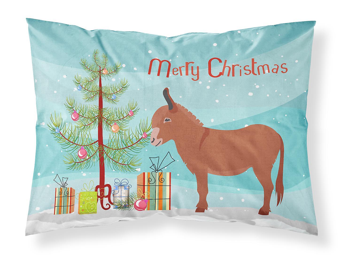 D'oreiller Irlandais De Noël Tissu Standard Taie Donkey 8nvN0Omyw
