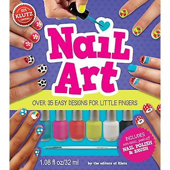 Nail Art (Klutz) (Paperback) by Editors Of Klutz