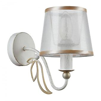 Maytoni Lighting Dafni Elegant Collection Sconce, White Gold