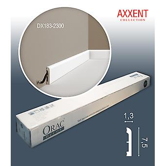 ORAC decor DX183-2300-box 1 box SET with 22 door surrounds baseboards | 50.6 m