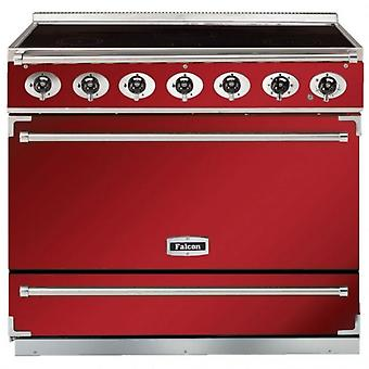 FALCON F900SEIRDN 90070 Single Cavity Induction Range Cooker, Red