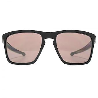 Oakley Sliver Xl Sunglasses In Polished Black Prizm Daily Polarised