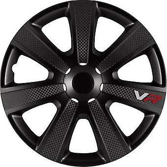 Wheel trims HP Autozubehör VR R14 Black (matt) 4 p
