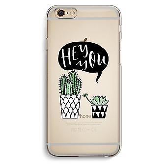 IPhone 6 6s trasparente caso (Soft) - Ehi voi cactus