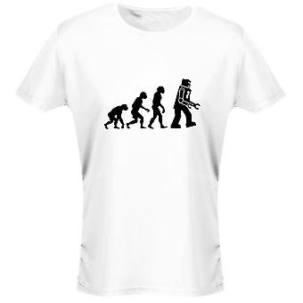 Robot Evo Evolution Funny Womens T-Shirt 8 Colours by swagwear