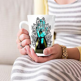 Sublieme natuur Fashion nieuwe witte thee koffie keramische Latte Mok 17 oz | Wellcoda