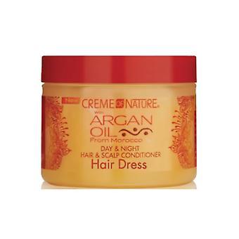 CR mig af natur Argan olie dag & nat hår & hovedbunden Conditioner 135g