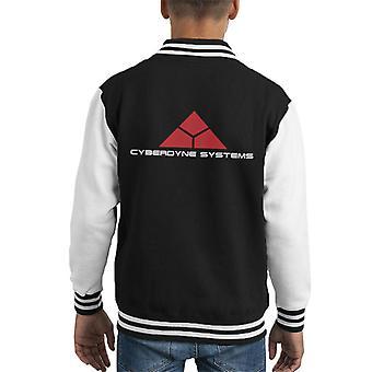 Terminator Cyberdyne Systems Kid Varsity Jacket