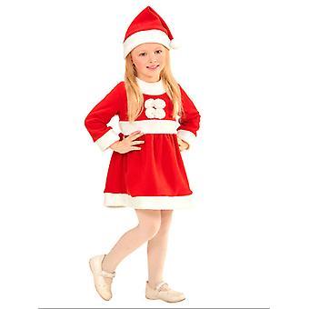 Santa Girl(0-9 M) (Vestido de sombrero)