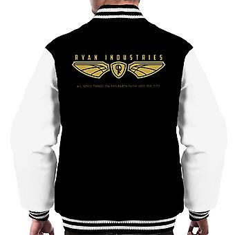Bioshock Ryan Industries Logo Men's Varsity Jacket