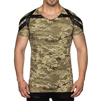 TAZZIO mens T-Shirt camouflage