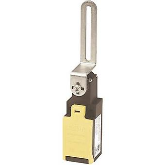 Safety button, Door switch 400 V AC 4 A Steel lever (straight) momentary Eaton LSR-S11-1-I/TKG IP65 1 pack