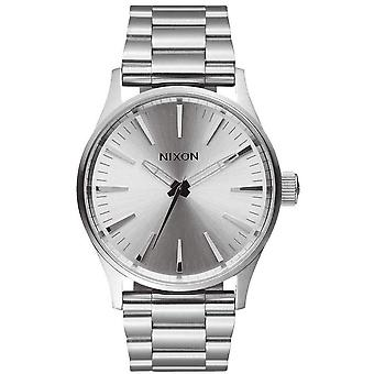 Nixon The Sentry 38 SS Watch - All Silver