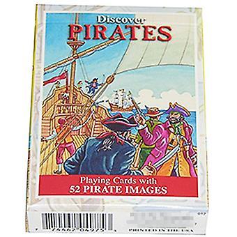 Oplev pirater sæt af 52 spillekort + jokere