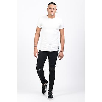 Jeans Black M3126HDE Sixth June Paris Man