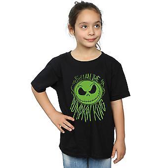 Disney Girls Nightmare Before Christmas Pumpkin King T-Shirt