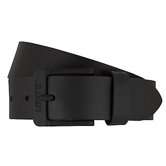 Levi BB´s belts men's belts leather jeans belt black 7403