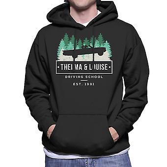 Thelma And Louise Driving School Men's Hooded Sweatshirt