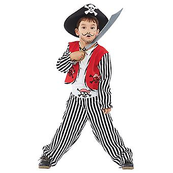 Ben the small pirate kids costume young pirate Corsair