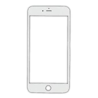 Stuff Certified® iPhone 8 A + Qualität Frontglas - weiß