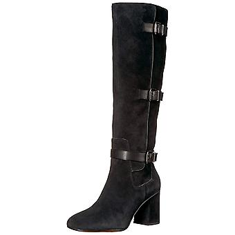 Franco Sarto Womens Knoll Suede Closed Toe Knee High Fashion Boots