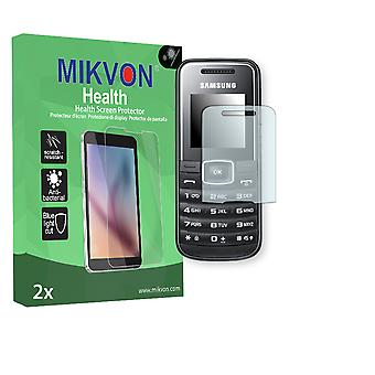 Samsung E1050 Screen Protector - Mikvon Health (Retail Package with accessories) (intentionally smaller than the display due to its curved surface)