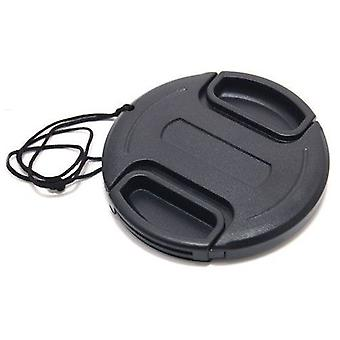 Dot.Foto 46mm Snap On Lens Cap with string / leash for Cameras and Camcorders - Canon, Fujifilm, JVC, Leica, Nikon, Olympus, Panasonic, Pentax, Samsung, Sigma, Sony?
