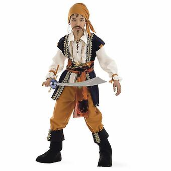 Pirate Buccaneer child costume Käpitän ruler of the seas boys costume