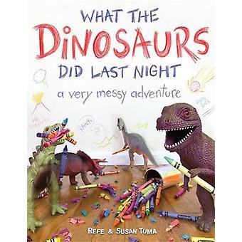 Was hat die Dinosaurier letzte Nacht - ein sehr chaotisch Abenteuer von Referenzanleihen Tum