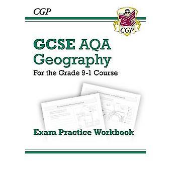 Ny karakter 9-1 GCSE geografi AQA eksamen praksis arbeidsbok av CGP-bøker
