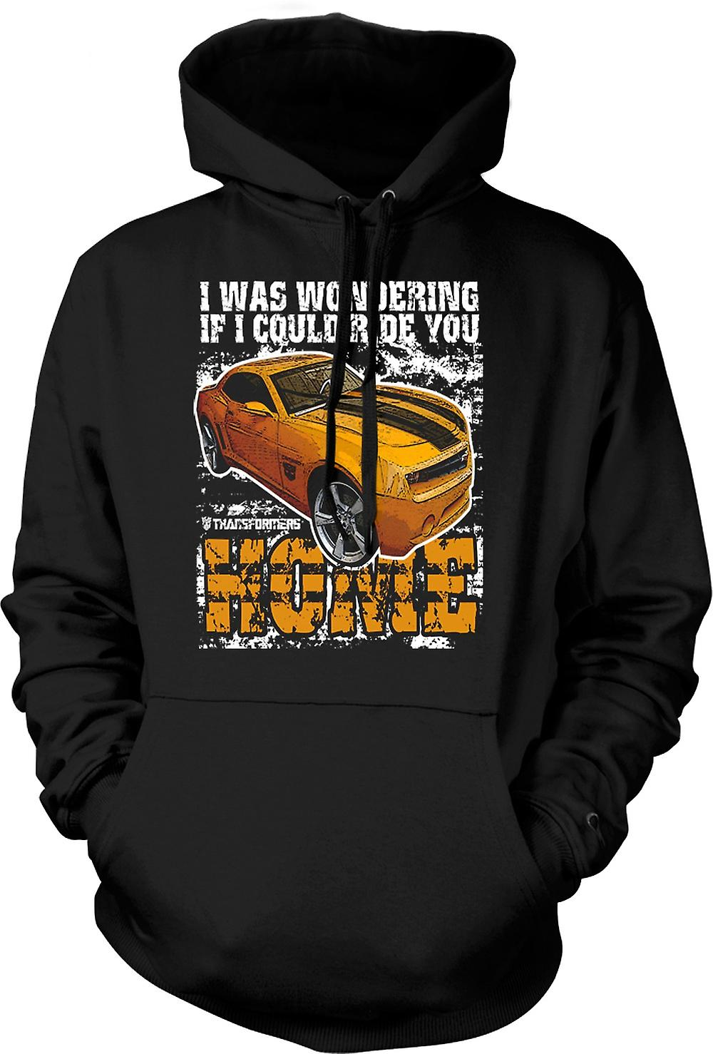 Mens Hoodie - Transformers - Ride You Home